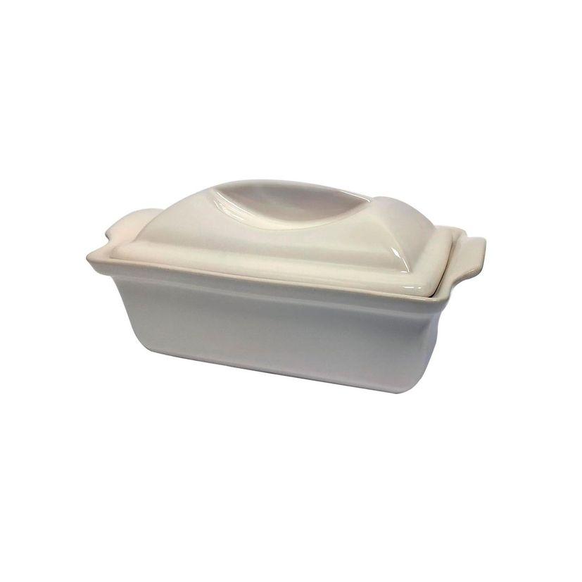 Terrine en céramique avec presse 0.6 L- Alice Délice