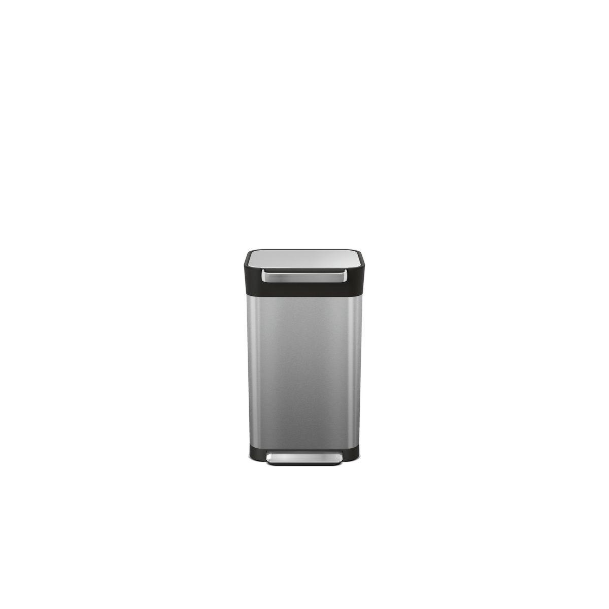 Compacteur à déchets Titan 30L inox - Joseph Joseph