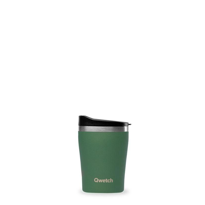 Mug isotherme granite kaki 240ml - Qwetch