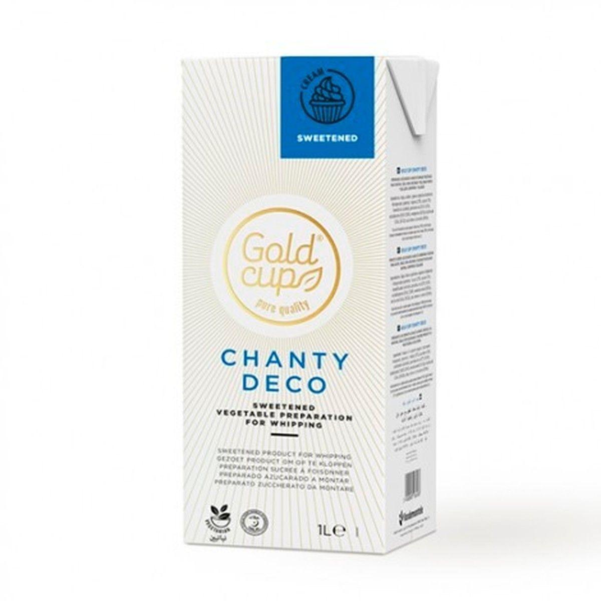 Brique crème chantilly végétale sucrée 1L - Vandemoortelle Lipids