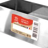 Rectangle à pâtisserie individuel en inox 9 X 3,5 cm hauteur 3 cm - Alice Délice