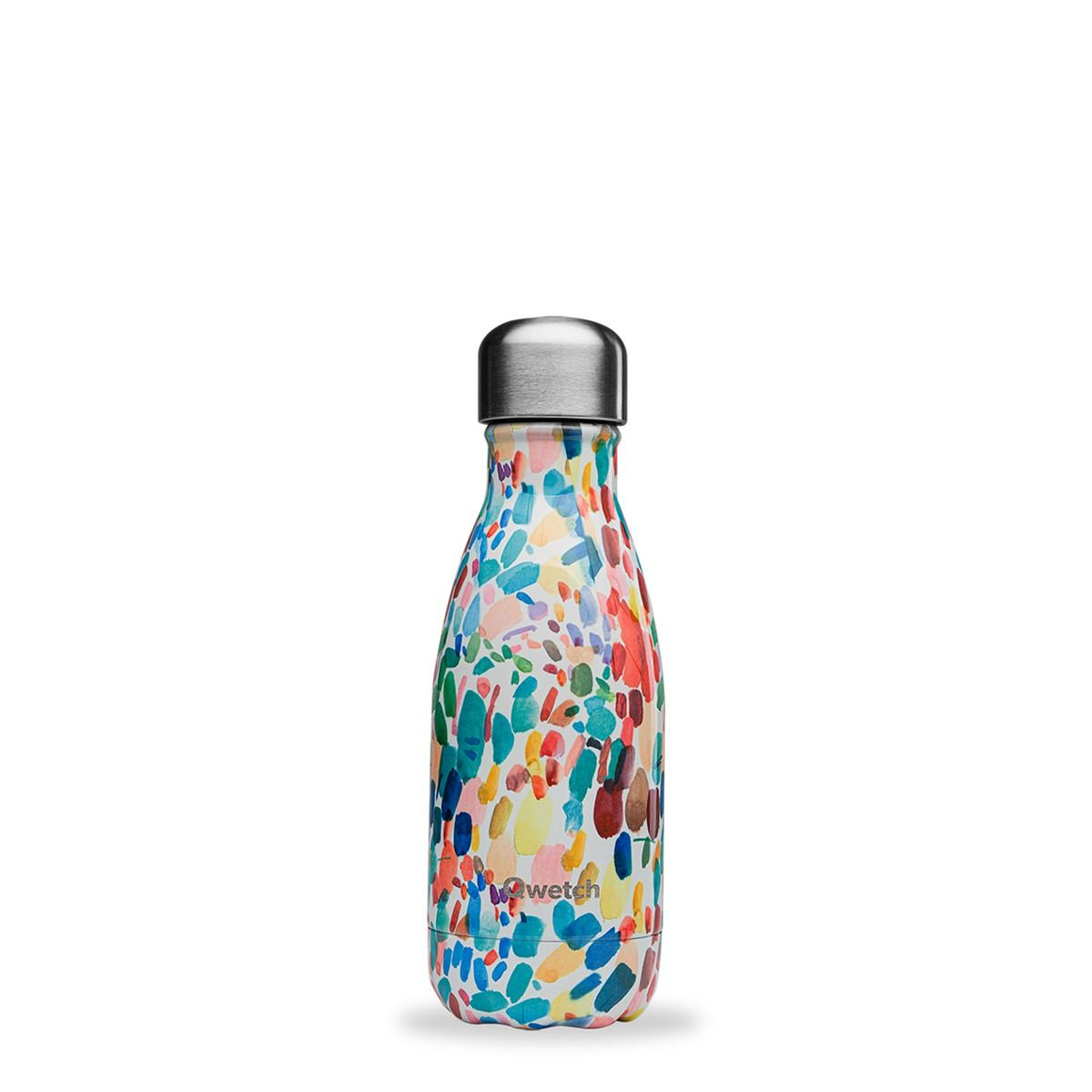 Bouteille isotherme inox 260ml arty - Qwetch
