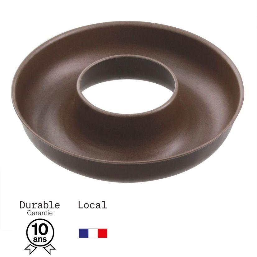 Moule à savarin en métal anti adhérent 6/8 parts 24 cm - Alice Délice