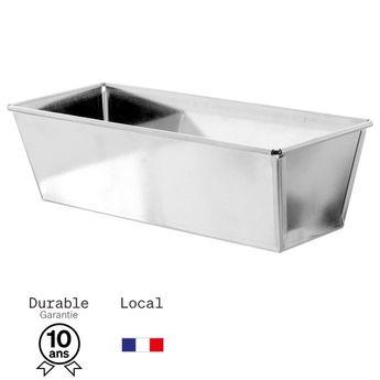 Achat en ligne Moule à cake en fer blanc 8/9 parts 24  cm - Alice Délice