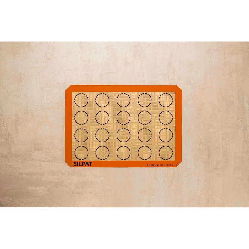 Toile de cuisson spéciale macarons 42 x 29,5 cm - Silpat