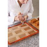 Moule 9 mini cakes en silicone et fibre de verre 40 x 30 cm - Silpat