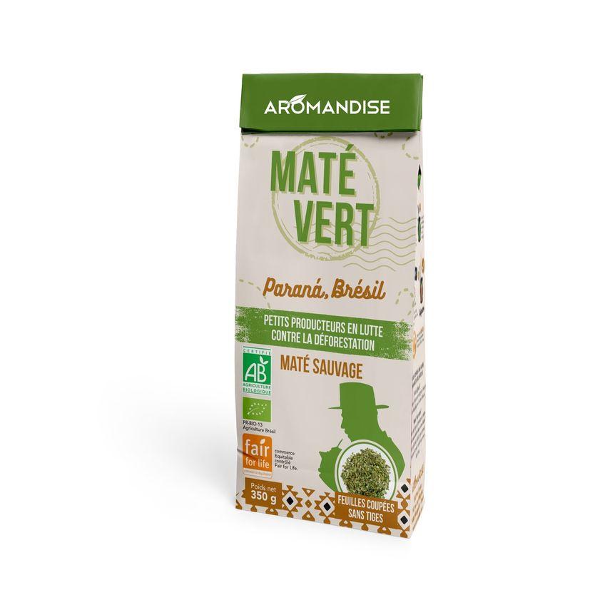 Maté vert sauvage bio 350g - Aromandise