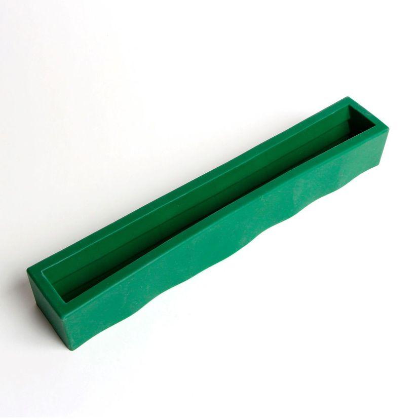 Moule à insert pour bûche sapin en silicone 28 cm - Daudignac