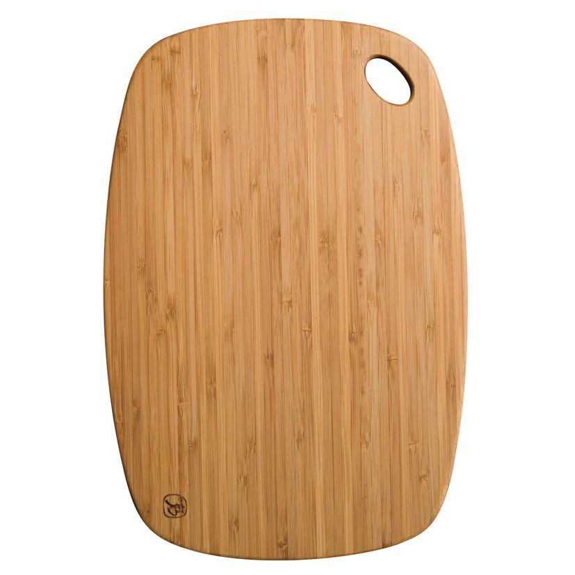 Planche à découper en bambou qui passe au lave vaisselle  45 x 30 cm - Totaly bamboo