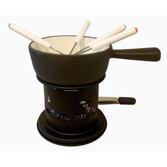 Achat en ligne Service à fondue pour 2/3 pers en fonte Ø 14 cm - Baumalu