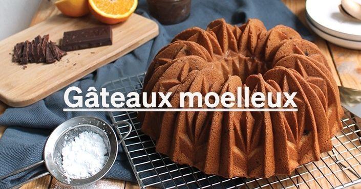 Les recettes de gâteaux moelleux