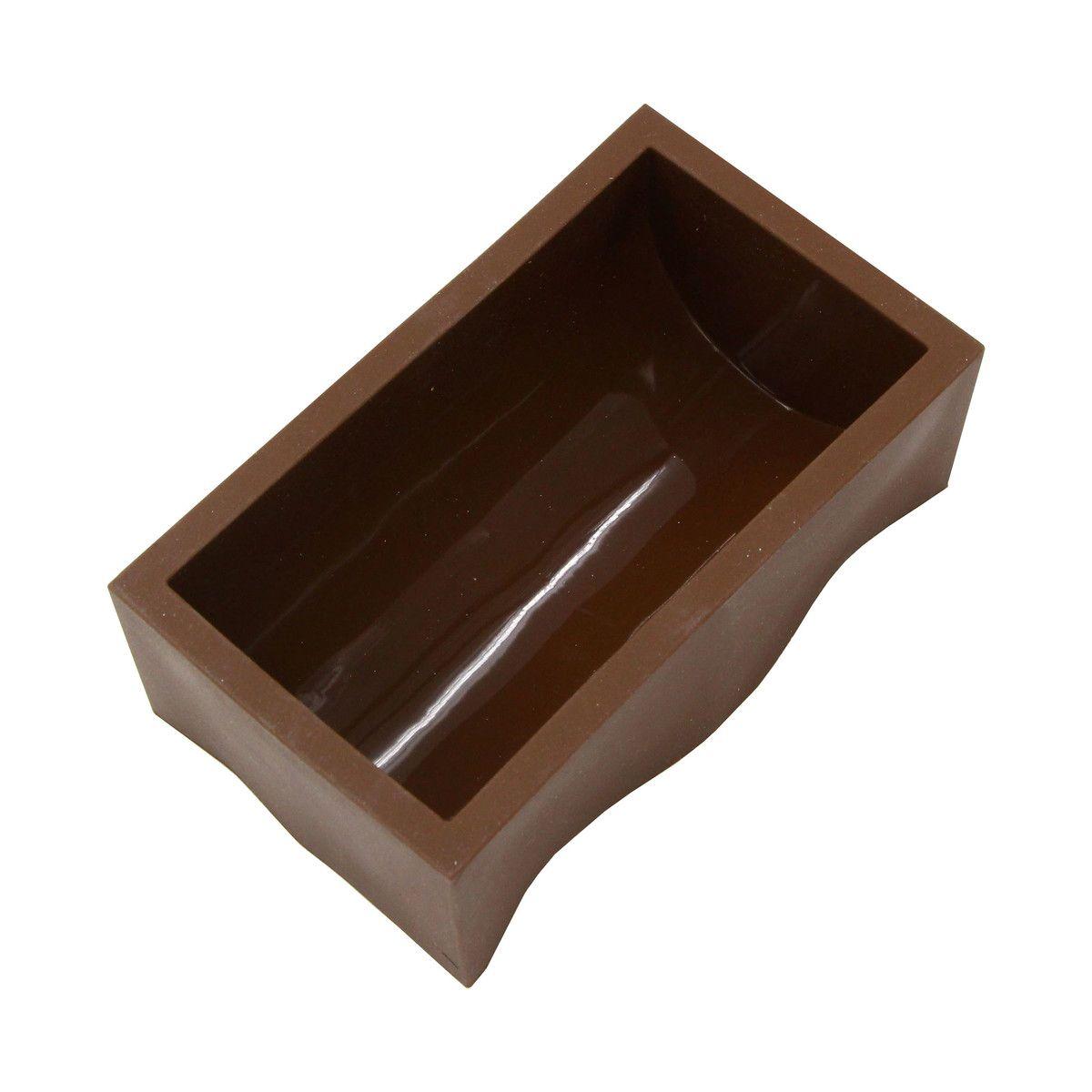 Moule à bûche en silicone 15 cm  4/6 parts - Daudignac