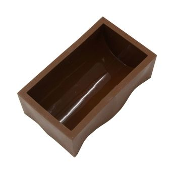 Achat en ligne Moule à bûche en silicone 15 cm  4/6 parts - Daudignac
