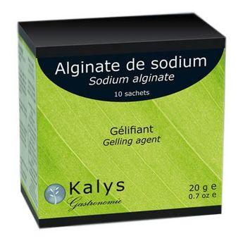 ALGINATE DE SODIUM 10X2G - KALYS GASTRONOMIE