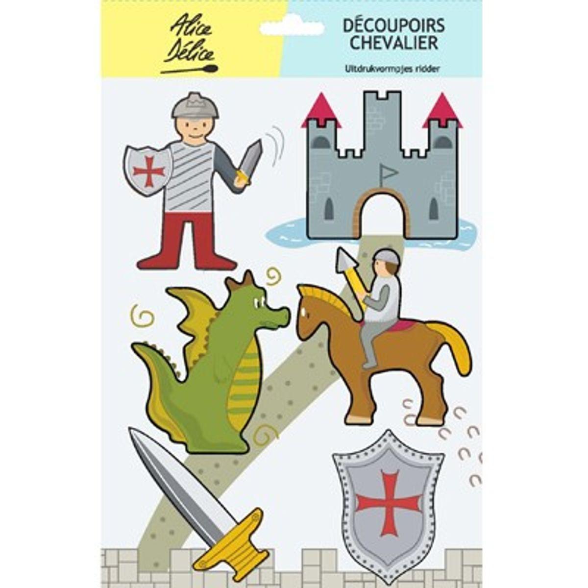 6 découpoirs inox chevalier - Alice Délice