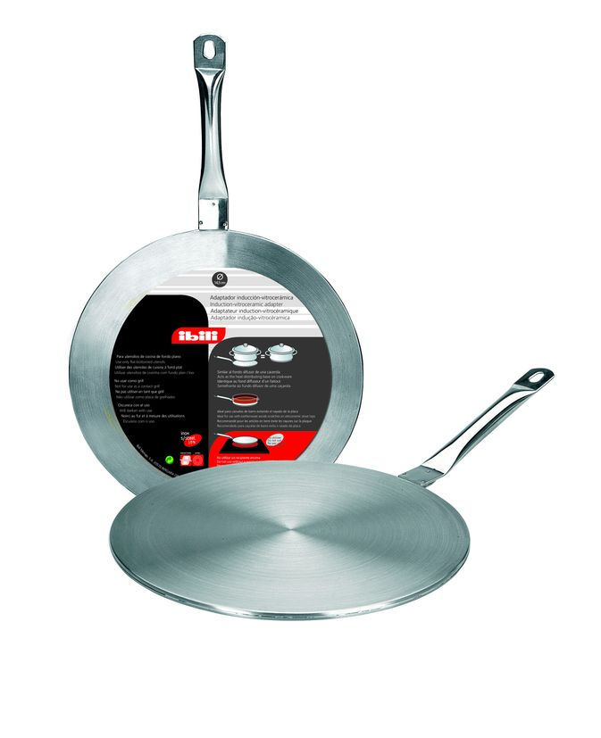 Disque relais induction en inox 24 cm - Ibili
