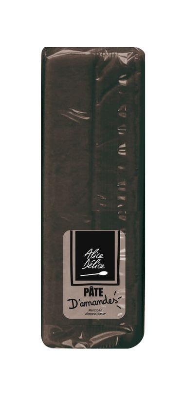 Pâte d´amande noire 250g - Alice Délice