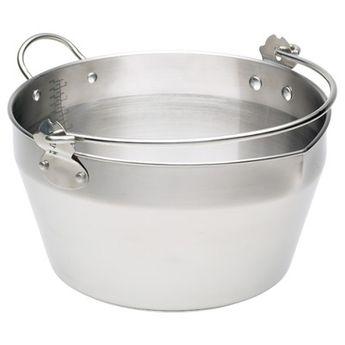 Bassine confiture 9 l inox compatible induction - Kitchencraft