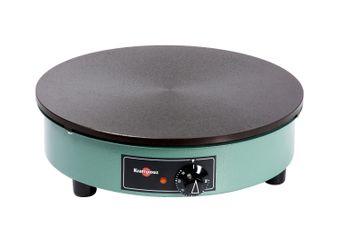Achat en ligne Crêpière électrique Billig noire et verte 40 cm - Krampouz