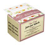 100 étiquettes autocollantes pour confitures et bocaux - Home Made