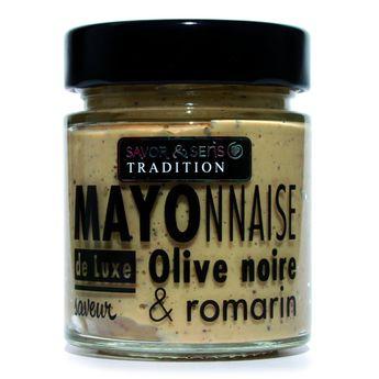 MAYONNAISE OLIVES ROMARIN - SAVOR ET SENS