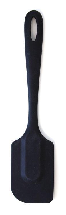 Spatule silicone noire