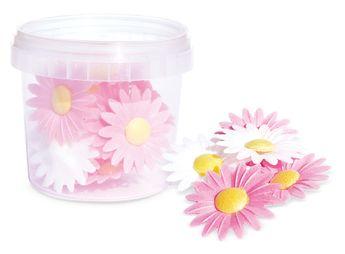 Achat en ligne 18 fleurs marguerites azyme - Scrapcooking