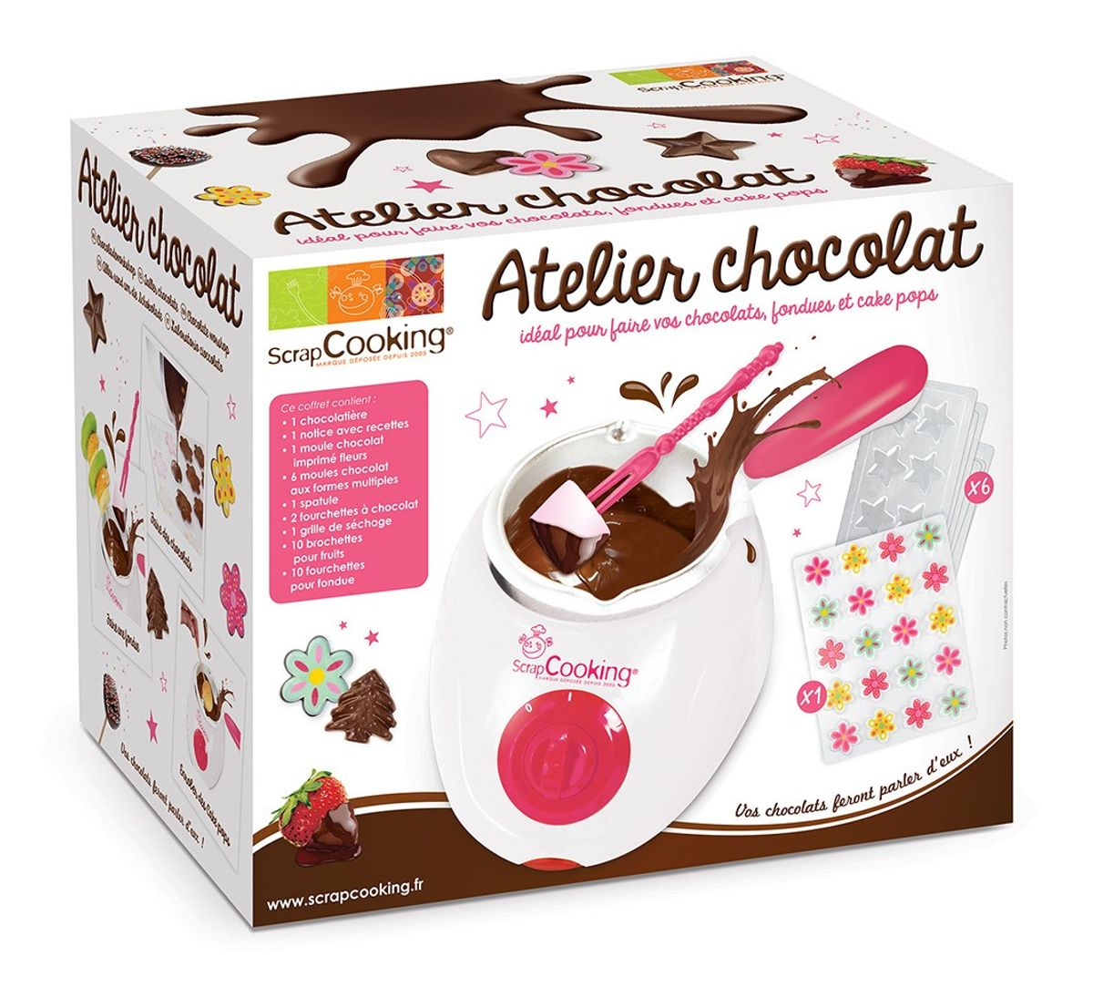 Coffret atelier chocolat - Scrapcooking